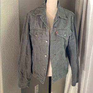 Gray Levi's Jean Jacket